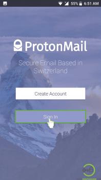 protonmail mobile login