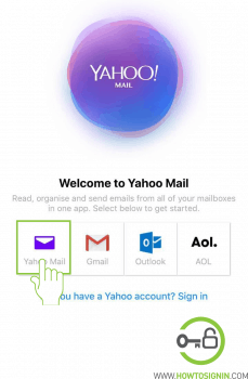 Yahoo Mobile Add Account