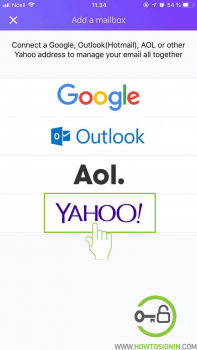 choose email service provider for yahoo mail