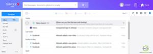 Yahoomail inbox
