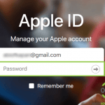 apple id login via web browser