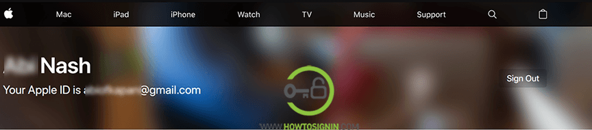 apple id login web broswer