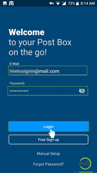 mail.com sign in mobile