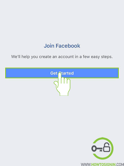 create a fb account on mobile