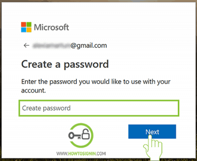 microsoft acount password