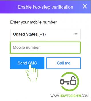 2 step verification yahoo set up