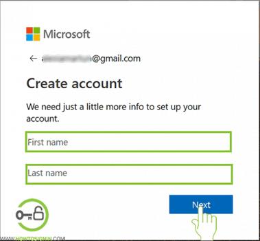 microsoft account sign up