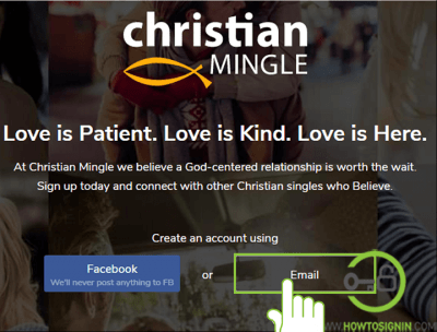 Christian Mingle Sign Up