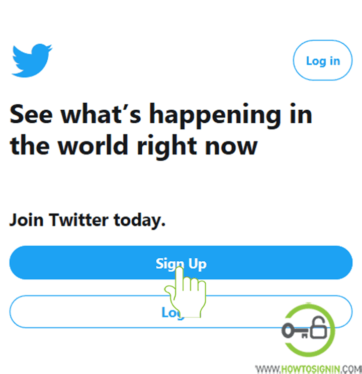 twitter sign up new account