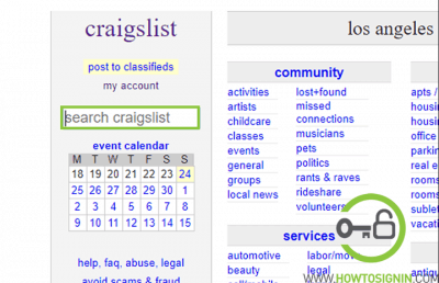 Search cities in Craigslist