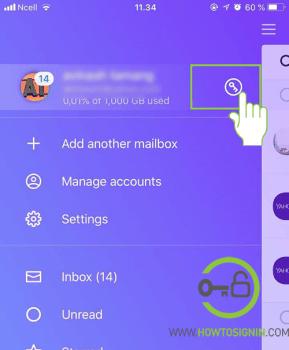 yahoo account key mobile