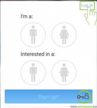 Zoosk Login from mobile app