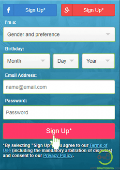 Zoosk email address