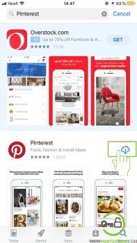 pinterest download app store
