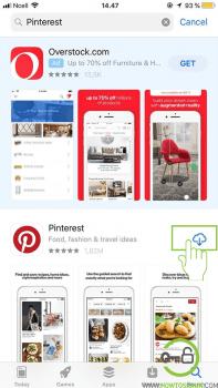 pinterest download app store