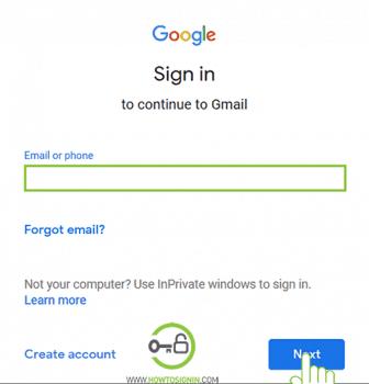 reset gmail password
