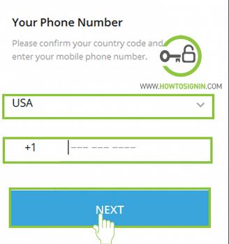telegram registration