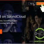 create soundcloud account