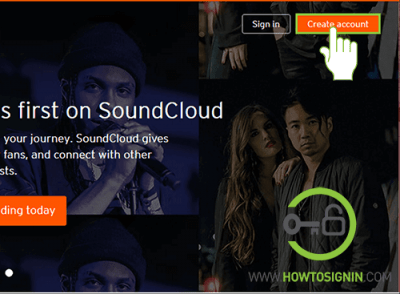 create soundcloud account