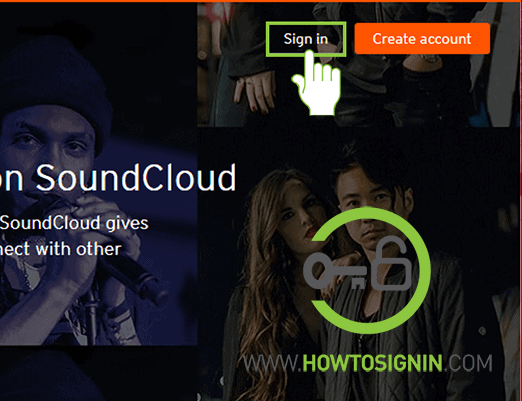 soundclound sign in