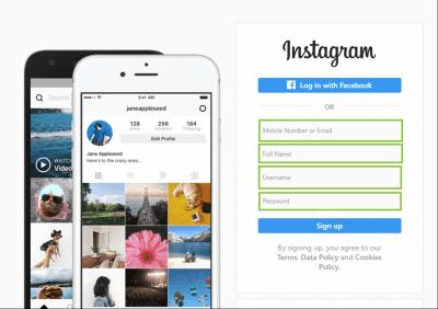 Create Instagram account