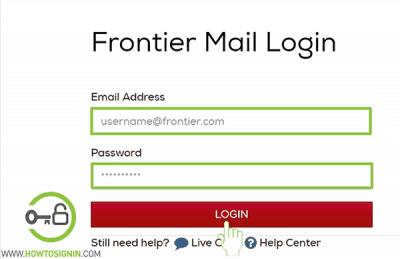 Frontier Mail login