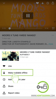 download vimeo video offline