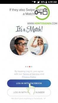 tinder sign up with facebook