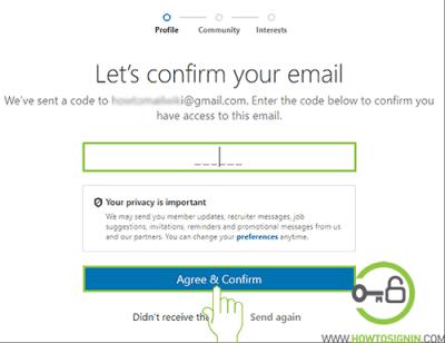 linkedin verification