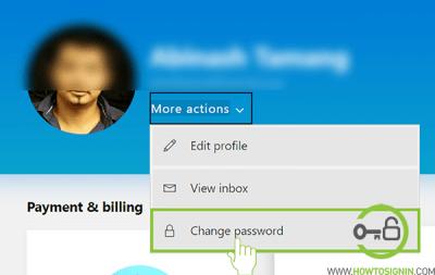 cambiar contraseña hotmail