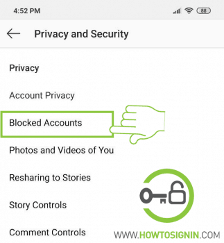 Instagram privacy and security