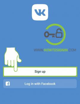 VK mobile homescreen