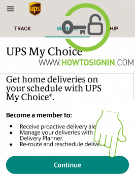 UPS account login - Track your UPS packages from mobile or PC