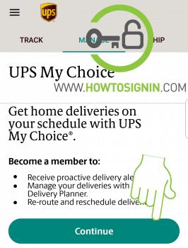 UPS account signup benefits