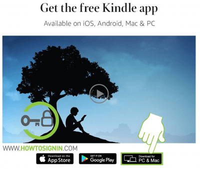 Kindle app for PC download