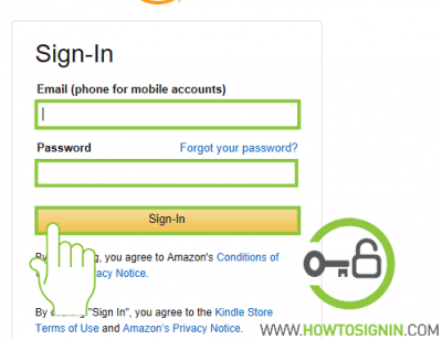 Kindle PC sign in